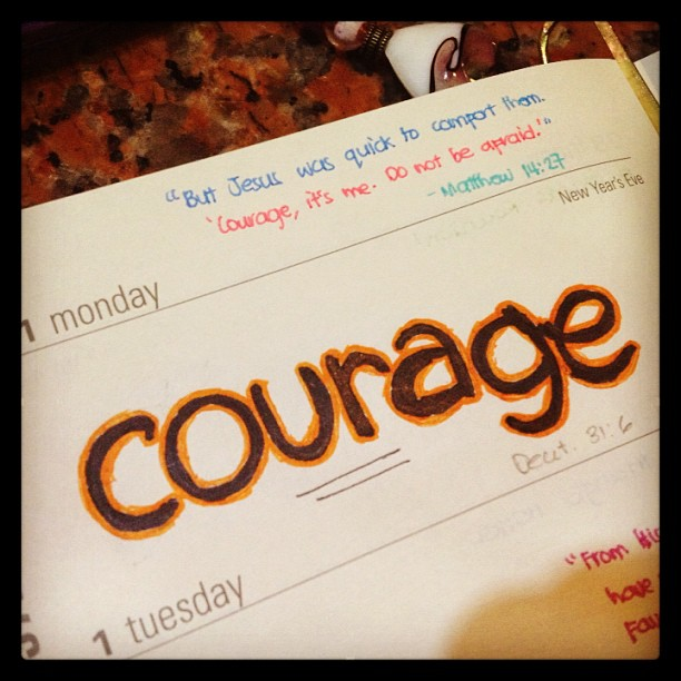 2013: Courage