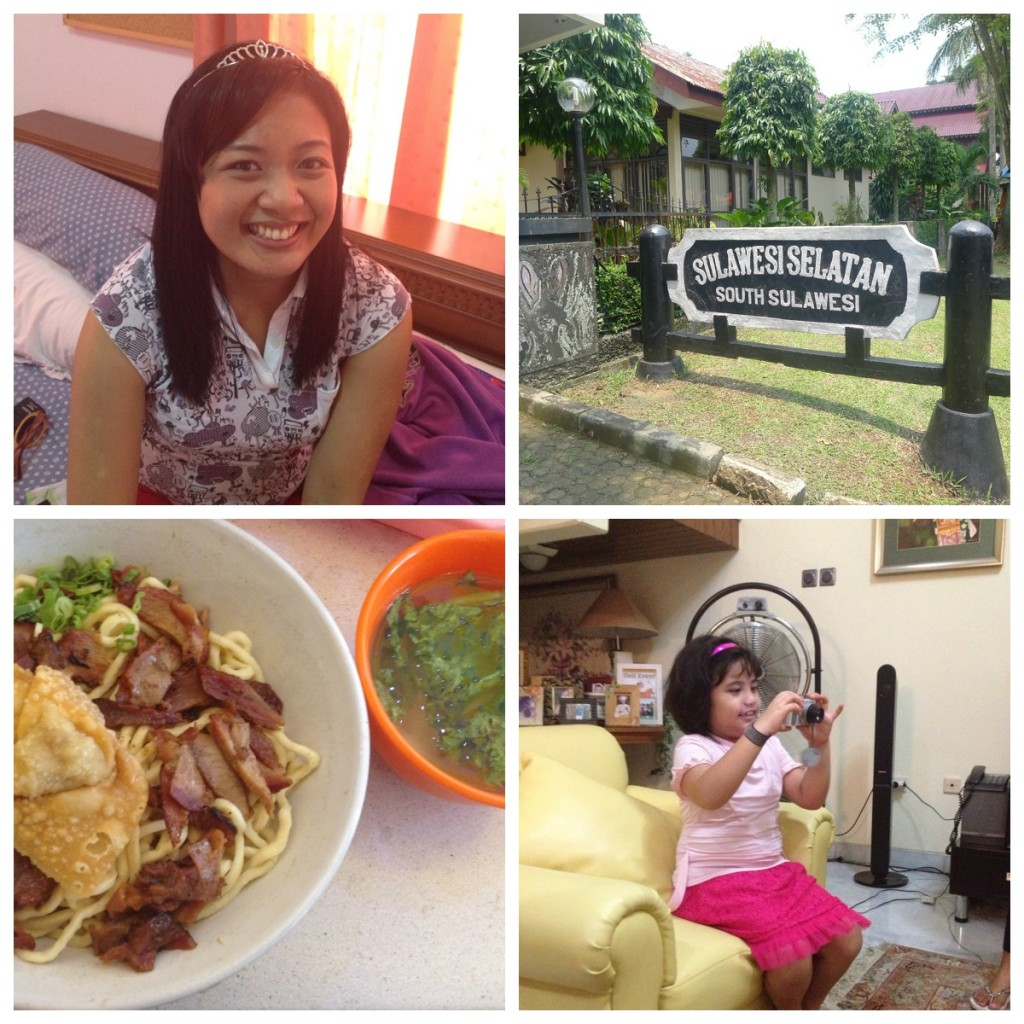 Princess for a morning, Taman Mini, The BEST. NOODLES. EVER., and our favorite little girl :)