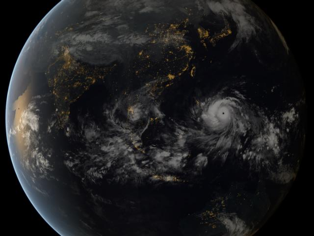 Image from  EUMETSAT via Flickr