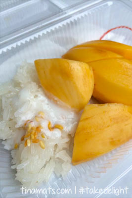 Mango sticky rice! ♥